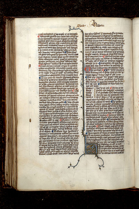 Paris, Bibl. Mazarine, ms. 0287, f. 136v