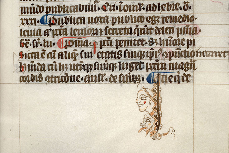 Paris, Bibl. Mazarine, ms. 0288, f. 256