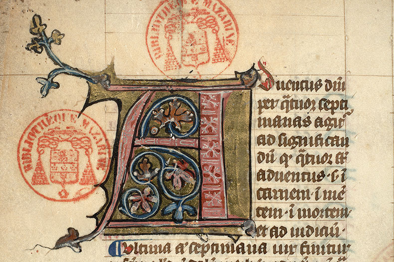 Paris, Bibl. Mazarine, ms. 1723, f. 002v