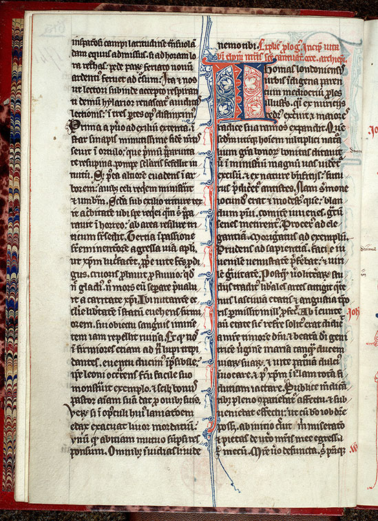 Paris, Bibl. Mazarine, ms. 1741, f. 001v