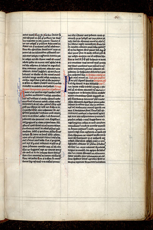 Paris, Bibl. Mazarine, ms. 0307, f. 026