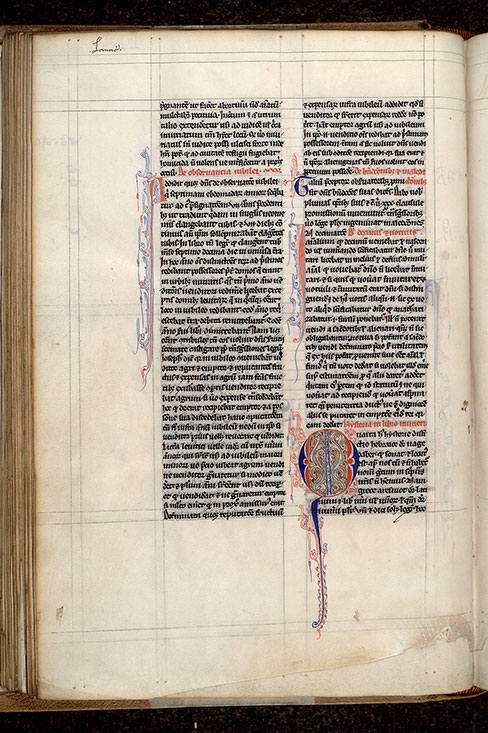 Paris, Bibl. Mazarine, ms. 0307, f. 052v