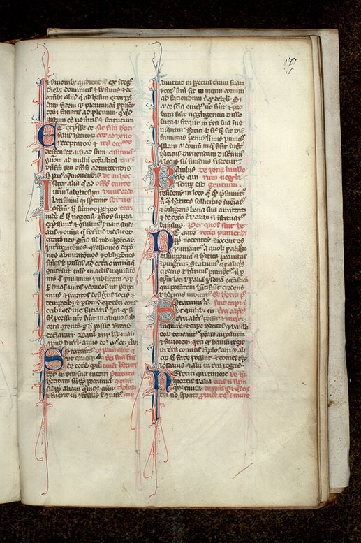 Paris, Bibl. Mazarine, ms. 2015, f. 177