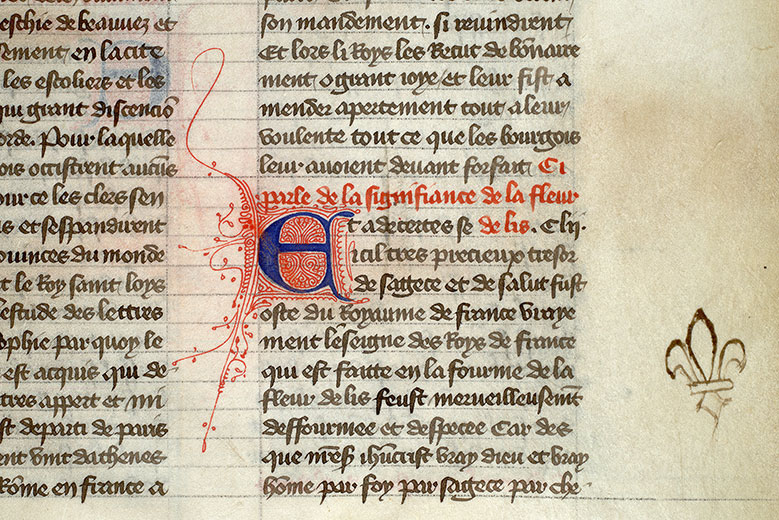 Paris, Bibl. Mazarine, ms. 2029, f. 055