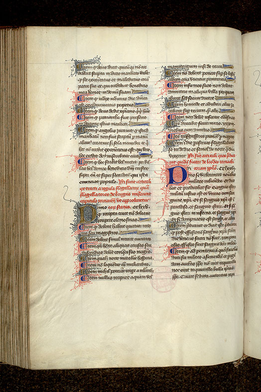 Paris, Bibl. Mazarine, ms. 2029, f. 126v
