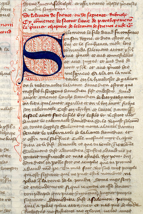 Paris, Bibl. Mazarine, ms. 0313, f. 157