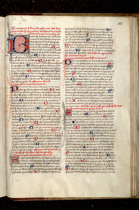 Paris, Bibl. Mazarine, ms. 0313, f. 212