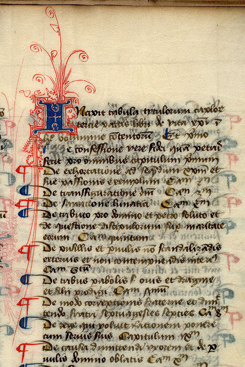 Paris, Bibl. Mazarine, ms. 0322, f. 186