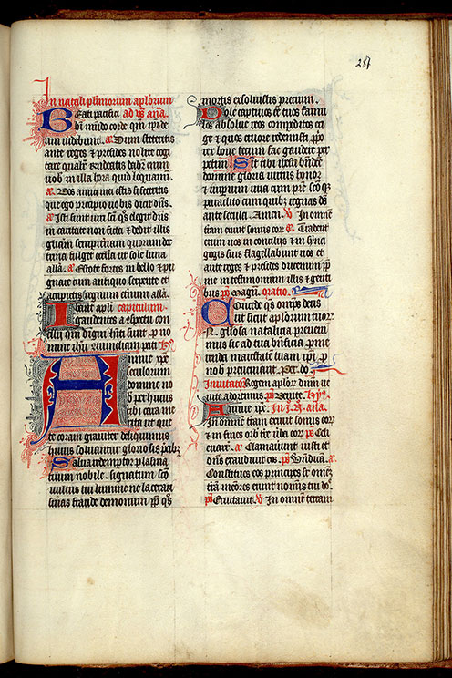 Paris, Bibl. Mazarine, ms. 0341, f. 287