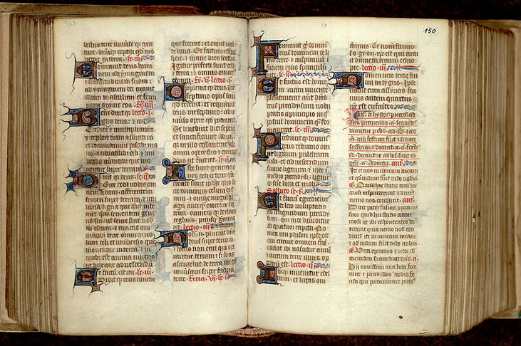 Paris, Bibl. Mazarine, ms. 0342, f. 149v-150