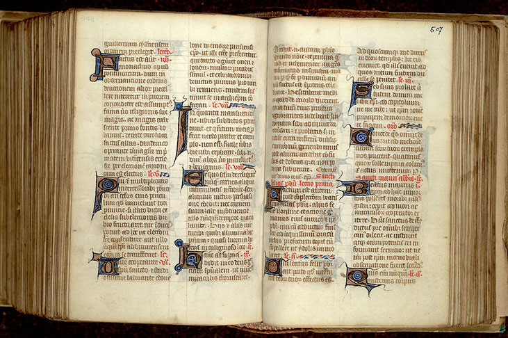 Paris, Bibl. Mazarine, ms. 0342, f. 506v-507