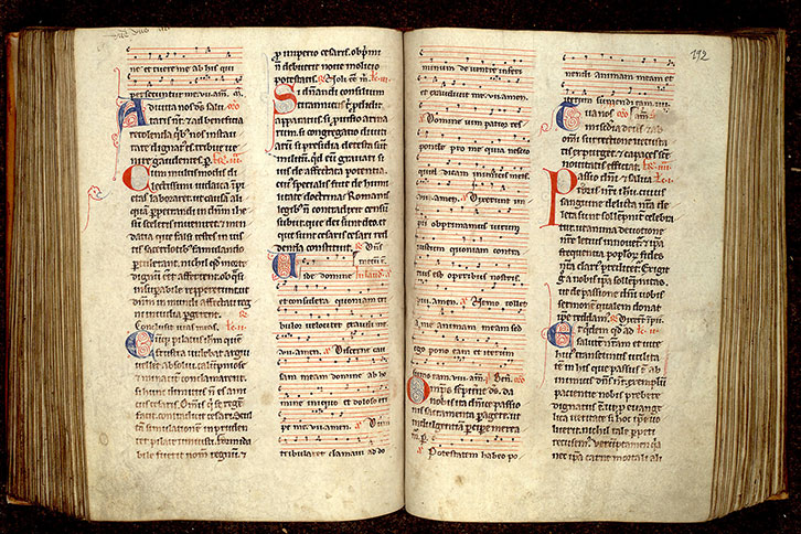 Paris, Bibl. Mazarine, ms. 0343, f. 191v-192