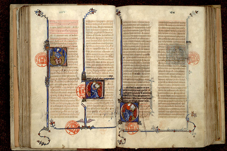 Paris, Bibl. Mazarine, ms. 0344, f. 108v-109