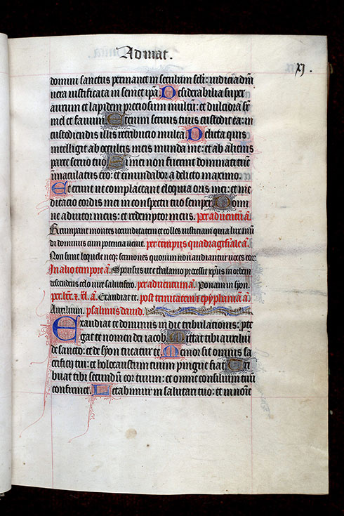 Paris, Bibl. Mazarine, ms. 0345, f. 011