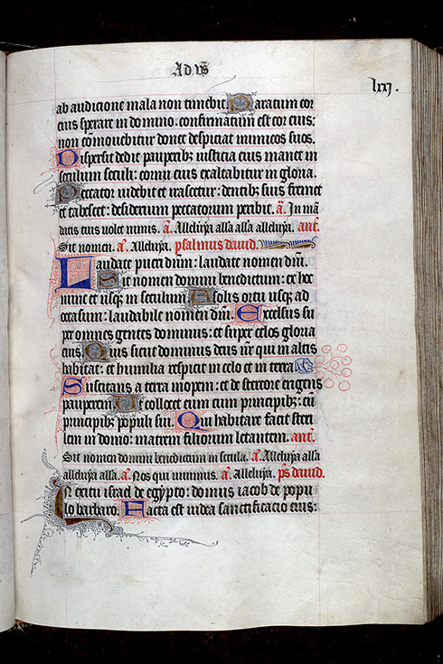 Paris, Bibl. Mazarine, ms. 0345, f. 071