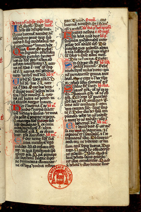 Paris, Bibl. Mazarine, ms. 0346, f. 007