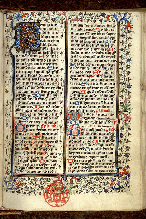 Paris, Bibl. Mazarine, ms. 0346, f. 169