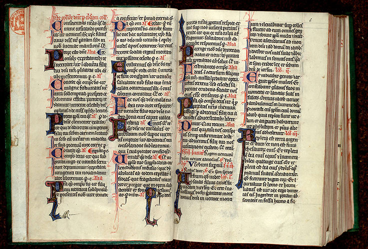 Paris, Bibl. Mazarine, ms. 0348, f. 005v-006