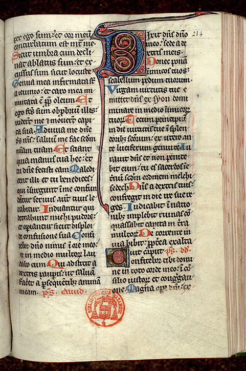 Paris, Bibl. Mazarine, ms. 0348, f. 234