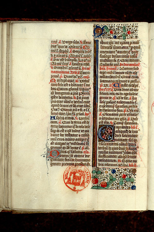 Paris, Bibl. Mazarine, ms. 0350, f. 038v