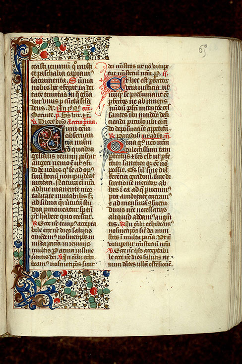 Paris, Bibl. Mazarine, ms. 0350, f. 065