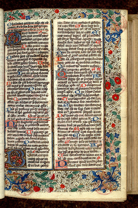 Paris, Bibl. Mazarine, ms. 0351, f. 009