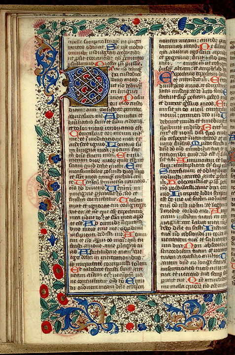 Paris, Bibl. Mazarine, ms. 0351, f. 019v
