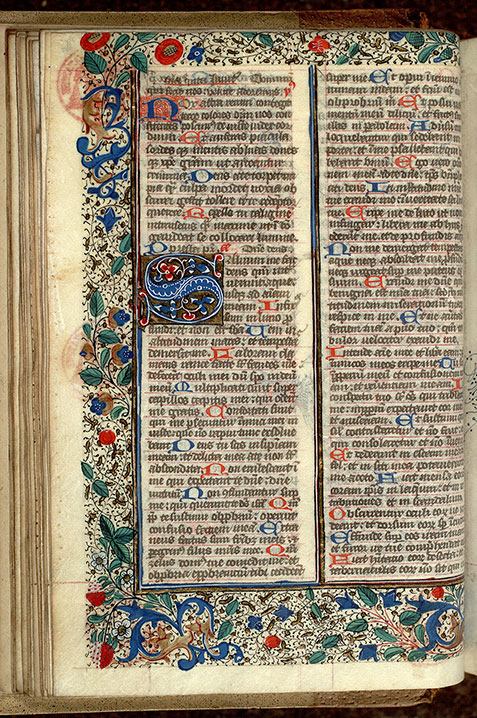 Paris, Bibl. Mazarine, ms. 0351, f. 026v