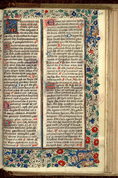 Paris, Bibl. Mazarine, ms. 0351, f. 311