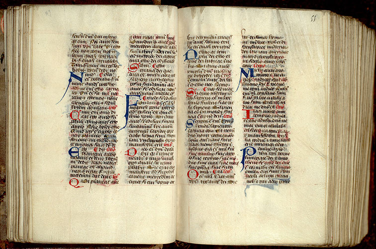 Paris, Bibl. Mazarine, ms. 0352, f. 054v-055