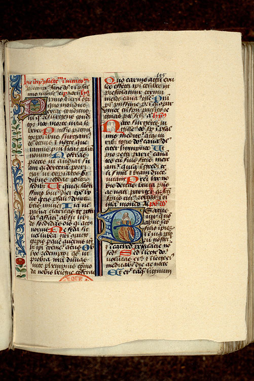 Paris, Bibl. Mazarine, ms. 0352, f. 195