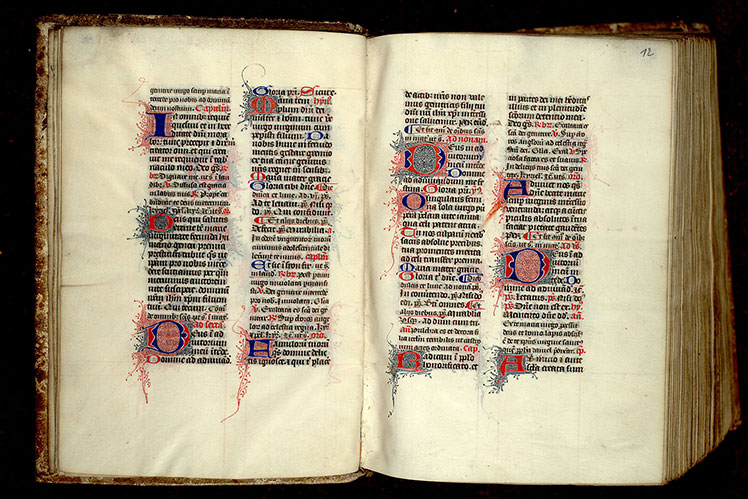 Paris, Bibl. Mazarine, ms. 0360, f. 011v-012