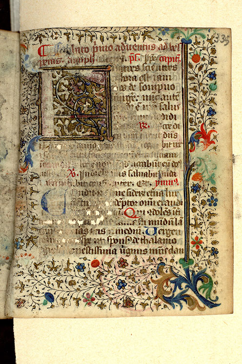 Paris, Bibl. Mazarine, ms. 0361, f. 335
