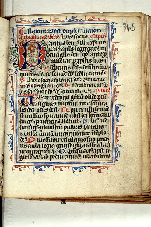 Paris, Bibl. Mazarine, ms. 0361, f. 345