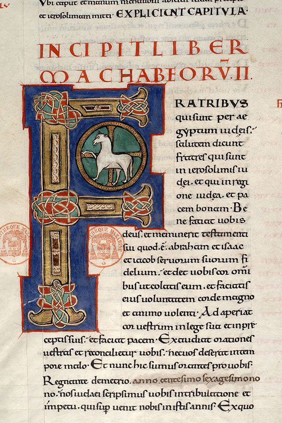 Paris, Bibl. Mazarine, ms. 0002, f. 136v