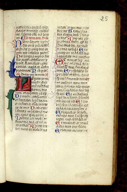 Paris, Bibl. Mazarine, ms. 0366, f. 025