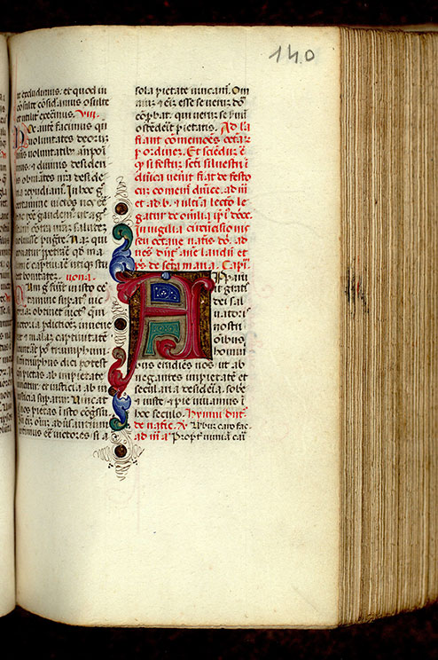 Paris, Bibl. Mazarine, ms. 0366, f. 140