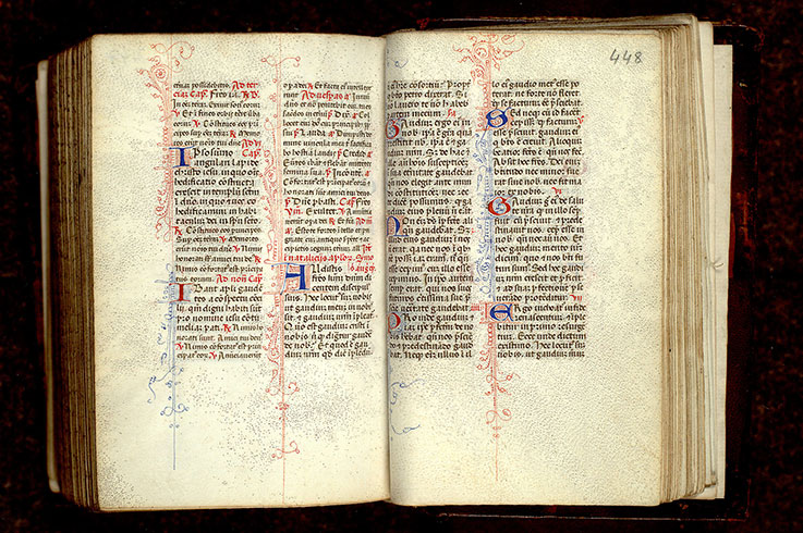 Paris, Bibl. Mazarine, ms. 0366, f. 447v-448