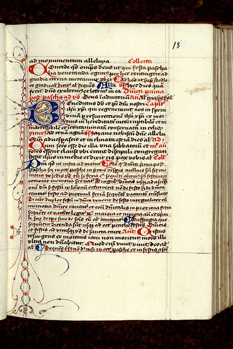 Paris, Bibl. Mazarine, ms. 0368, f. 018