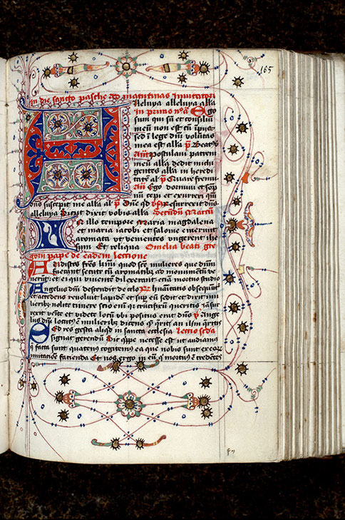 Paris, Bibl. Mazarine, ms. 0368, f. 165