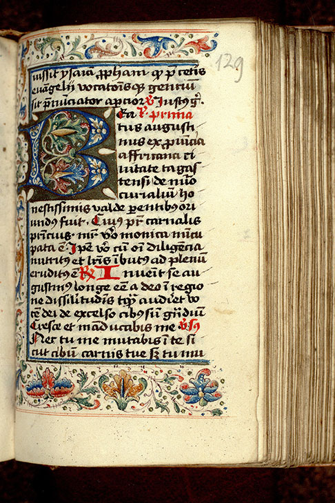 Paris, Bibl. Mazarine, ms. 0371, f. 129