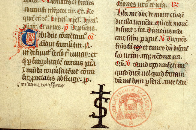 Paris, Bibl. Mazarine, ms. 0379, f. 073v