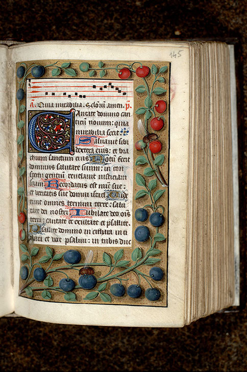 Paris, Bibl. Mazarine, ms. 0381, f. 145