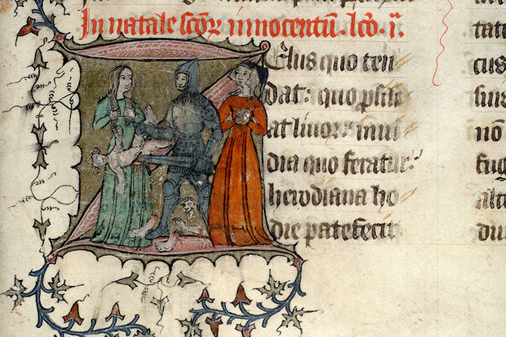 Paris, Bibl. Mazarine, ms. 0399, f. 007