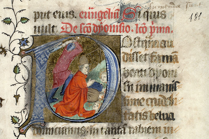 Paris, Bibl. Mazarine, ms. 0399, f. 181