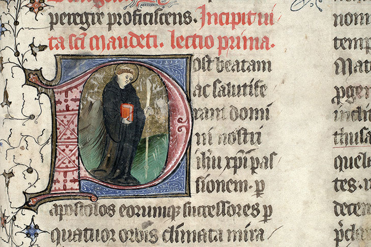 Paris, Bibl. Mazarine, ms. 0399, f. 238