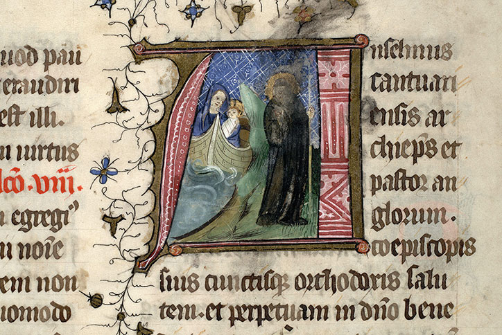 Paris, Bibl. Mazarine, ms. 0399, f. 258v