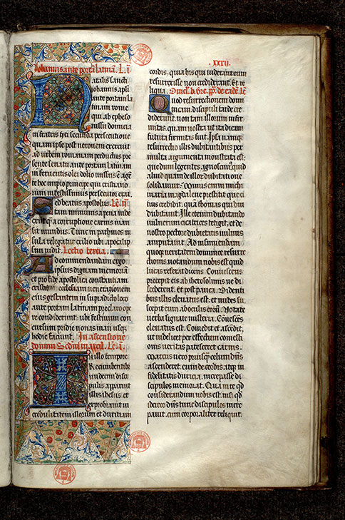 Paris, Bibl. Mazarine, ms. 0401, f. 032