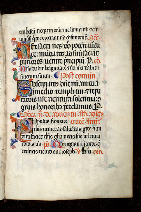 Paris, Bibl. Mazarine, ms. 0403, f. 002