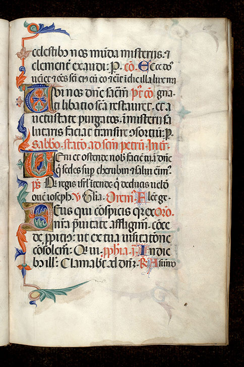 Paris, Bibl. Mazarine, ms. 0403, f. 006